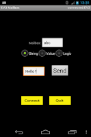 Screenshot of EV3 Mailbox Remote