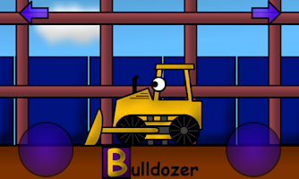 Screenshot of Construction Alphabet for Kids