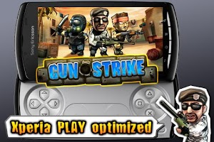 Screenshot of Gun Strike XperiaPlay