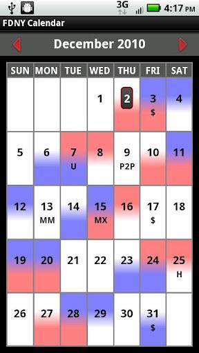 FDNY Scheduler