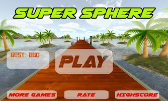 Screenshot of Super Sphere