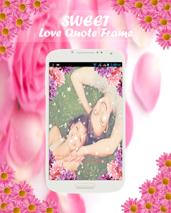 Love Quotes Valentine Frame - screenshot