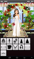 Screenshot of Wedding Dress Up