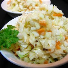 Addictive Apple Coleslaw