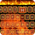 Download Fire Theme for Emoji Keyboard APK for Android Kitkat