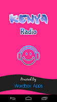 Screenshot of Kenya Radio