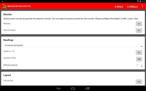 Network Monitor Mini Pro - screenshot
