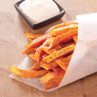 Sweet Potato Fries with Chipotle Dipping Sauce