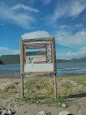 Cartel Área Protegida El Maviri