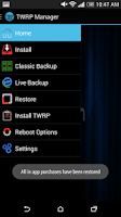 Screenshot of TWRP Manager  (ROOT)
