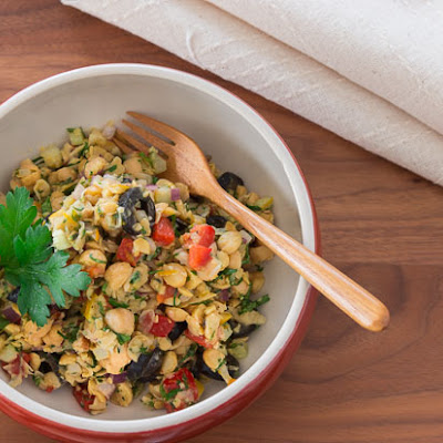 Chopped Chickpea Salad