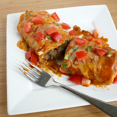 Bean Enchiladas