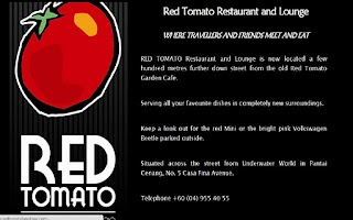 Screenshot of Red Tomato Restaurant Langkawi