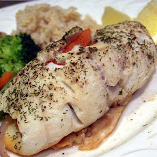 Veggie Stuffed Sole Fish