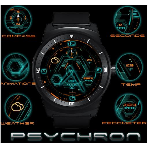 PsychronPro watch face