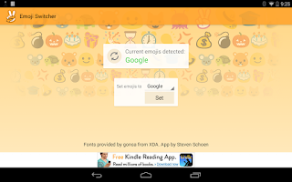 Screenshot of Emoji Switcher (root)