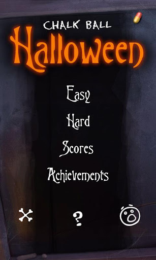 chalk-ball-halloween for android screenshot