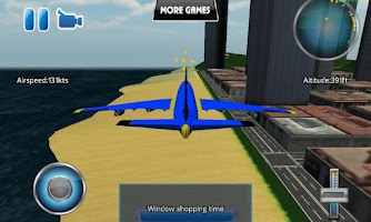 Screenshot of A-plane flight simulator 3D