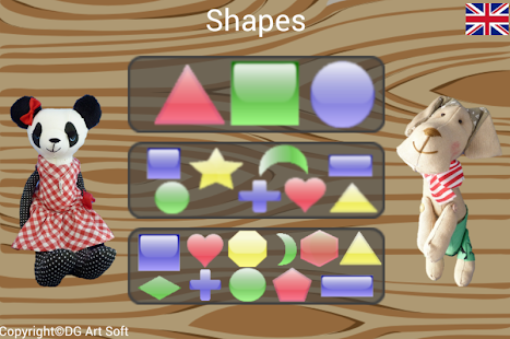 Shapes - screenshot