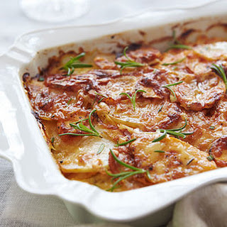 Sweet Potato White Potato Gratin Recipes