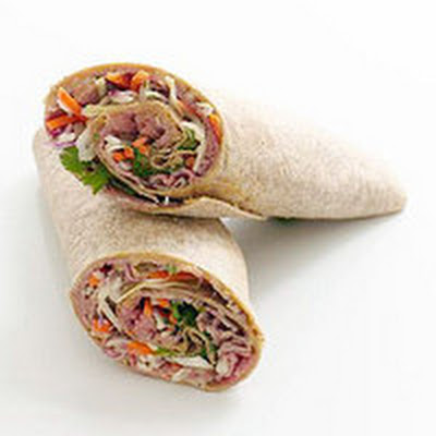 Thai Roast Beef Wrap