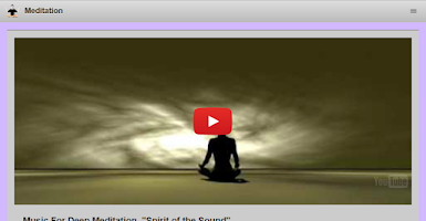 Screenshot of How to Meditate: Meditation
