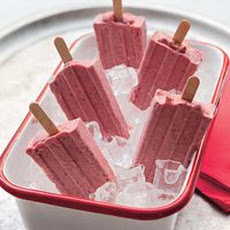 Strawberries n Cream Pie Ice Pops