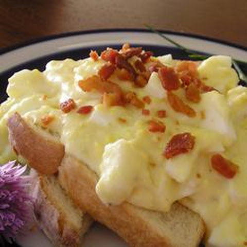 Creamed Chicken on Toast Creamed Eggs on Toast