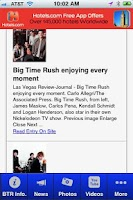 Screenshot of Big Time Rush Fan App