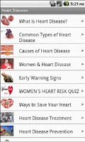 Screenshot of Heart Diseases- Free