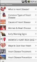 Screenshot of Heart Diseases- Free