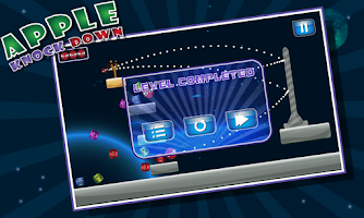 Screenshot of Apple Knock Down: Slingshot