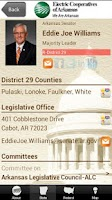 Screenshot of 2014 AR Legislative Roster