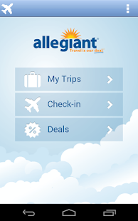 The official app of Allegiant Travel & Allegiant Airlines. Book your vacation online at erlinelomanpu0mx.gq, then use this app to make the most of your trip. Passengers can follow their trip on a card-by-card basis in the app. Each phase in the trip is .
