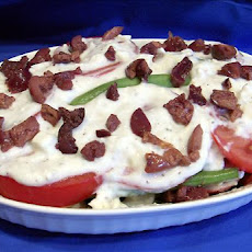 Two Cheese Green Beans & Tomatoes -- Hot or Cold