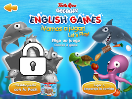 Screenshot of Oceanix. Cuentos en Inglés 2