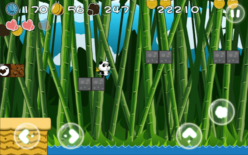 Jungle Panda Run - screenshot