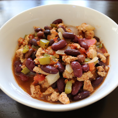 Spicy Turkey Chili With Fresh Vegetables