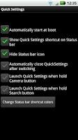 Screenshot of Quick Settings