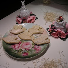 "Italian Easter Cookies: ""frosted Dove"""