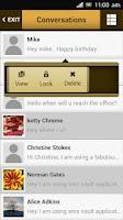 Screenshot of SMS Vault