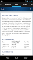 Screenshot of Gothia Cup