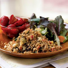 Bell Pepper and Fresh Mozzarella Couscous