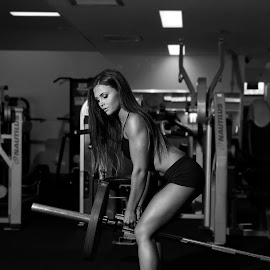 Gym Beauty by Jess Devenish - Sports & Fitness Fitness ( jessiedimages, gym pose, jessie d images, fitness, gym photography, fitness photography, gym )