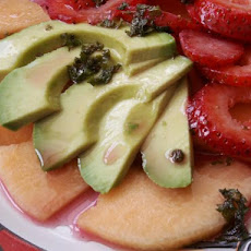Strawberry, Melon & Avocado Salad