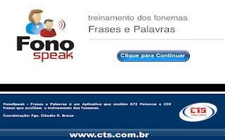 Screenshot of FonoSpeak - Frases e Palavras