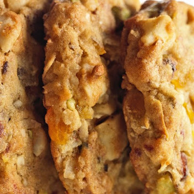 Mixed Fruit-and-Nut Cookies