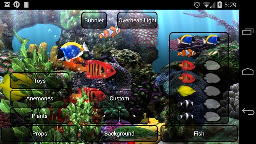 Aquarium Live Wallpaper - screenshot
