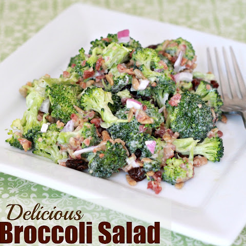 Simple & Delicious Broccoli Salad