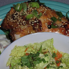 Ginger Lime Teriyaki Glazed Chicken